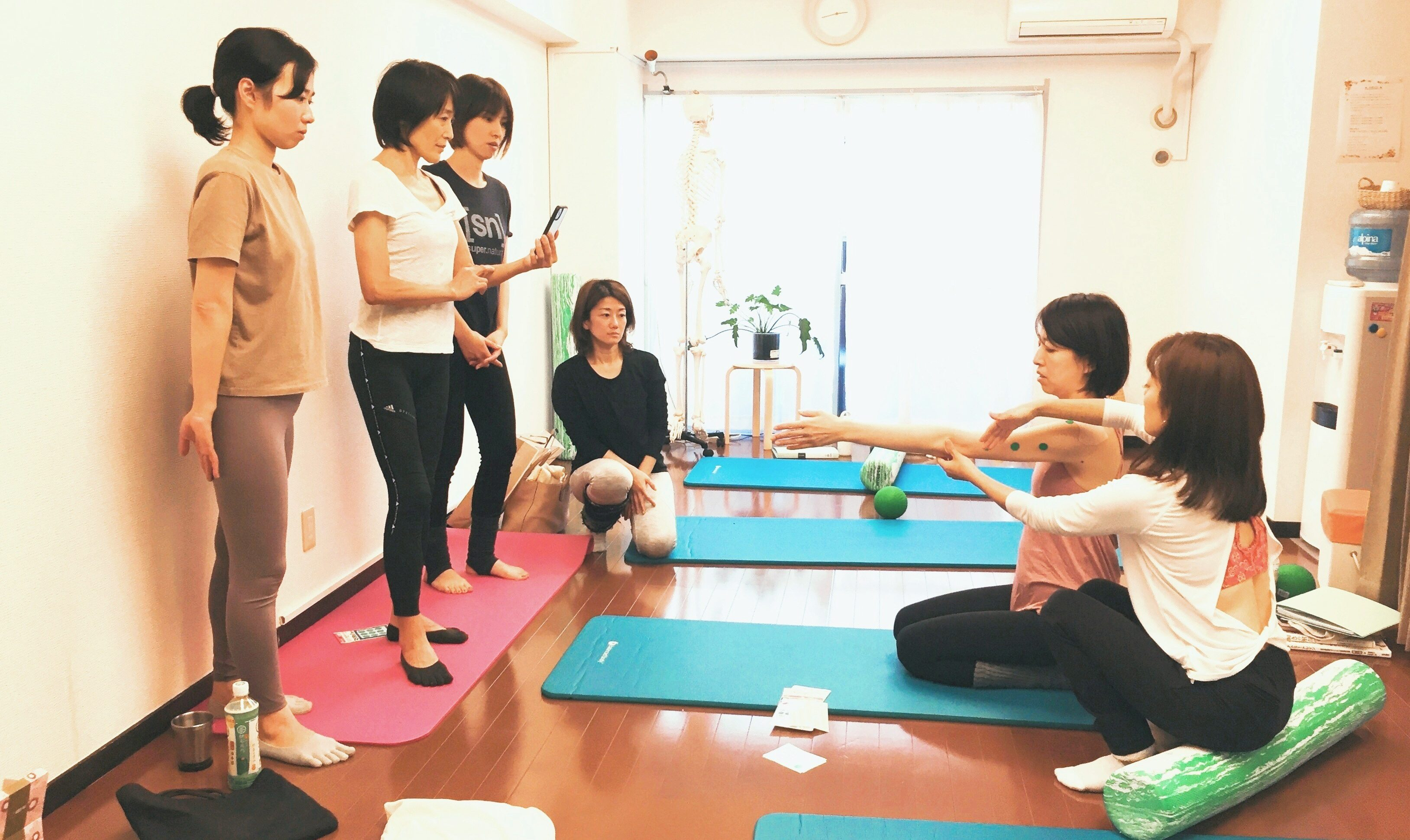 【Kayoko's blog】ベーシックマット東京養成コース開催中です♪